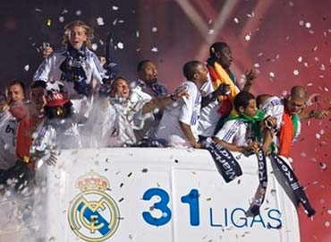 El Real Madrid ha ganado 31 ligas